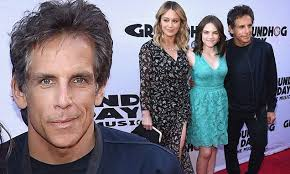 Cute Spiders Phil Ebersole S - ben stiller and family attend groundhog day opening daily mail online