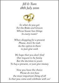 wedding gift honeymoon fund wedding money poems x 75 many designs vintage wedding stationery