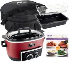 4 in 1 ninja cooking system w recipe book bake pan u0026 travel bag