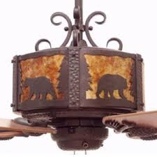 Craftsman Ceiling Fan by Copper Canyon Lighting And Ceiling Fans Rustic Lighting And Fans