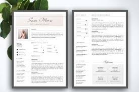 resume template for ms word resume templates creative market