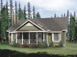 unique ranch house plans with covered porch with classic style