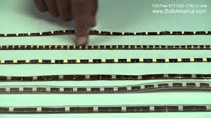 5050 smd 300 led strip light rgb led strip differences epoxy vs silicon 5050 smd vs 3528 smd youtube