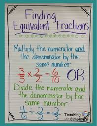 best 25 finding equivalent fractions ideas on pinterest