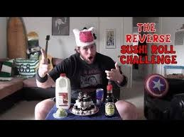 Challenge La Beast The Sushi Roll Challenge Featuring L A Beast Vomit