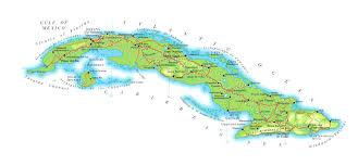 Guantanamo Bay Map Cuba