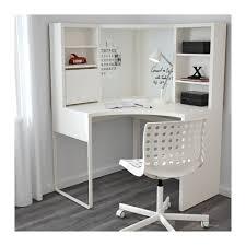 bureau micke ikea micke poste de travail d angle blanc 100x141 cm ikea