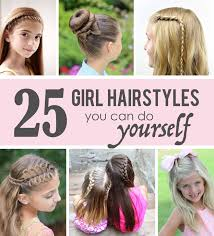 do it yourself haircuts for women 25 little girl hairstyles you can do yourself get out of your