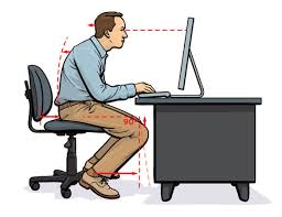 Computer Desk Posture Exercises To Help Avoid Debilitating Back And Neck Pain