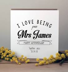 anniversary cards for wedding anniversary cards notonthehighstreet