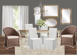 dining room makeovers high contrast dining room makeover plans bless u0027er house