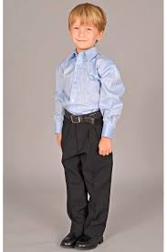 boys light blue dress pants solid belted dress pants with light blue shirt kid s fashions