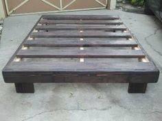 Make Your Own Platform Bed Frame Cheap Easy Low Waste Platform Bed Plans Platform Beds 30th