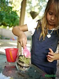kid made terrariums whimsicle
