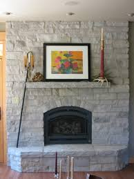 decoration popular stone fireplace design