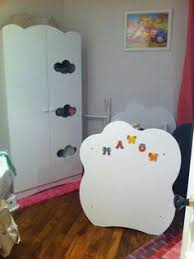 chambre altea blanche le lit bébé altéa blanc accompagné de sa commode bébé altéa