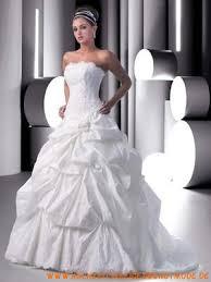 brautkleider taft formale schicke weiße brautkleider aus taft trägerlosige mode