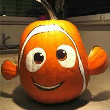 disney halloween nemo pumpkin disney halloween pinterest
