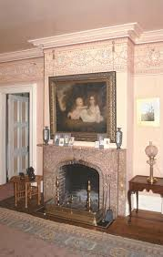 a frame for the fireplace old house restoration products