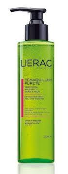 lierac gel icaria s lierac démaquillant pureté foaming cleansing gel review