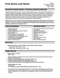 Document Controller Resume Sample by Television Master Controller Resume Template Premium Resume