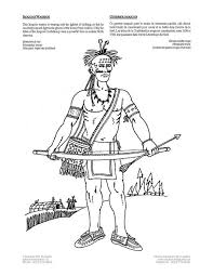 coloring iroquois warrior img 4229