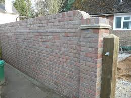 brick walls brick walling garden walls gardens great u0026 small