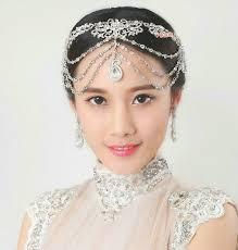luxury hair accessories buy wholesale luxury wedding headdress rhinestone flower