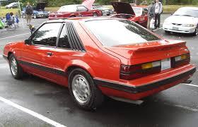 86 Mustang Gt Interior Bright Red 1986 Ford Mustang Gt Hatchback Mustangattitude Com