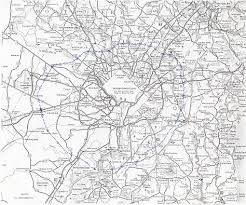 Highway Map Of Virginia by Washington Outer Beltway