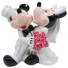 mickey and minnie cake topper disney s mickey minnie wedding cake topper figurine wedding