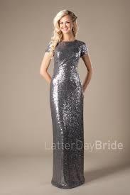 modest bridesmaids dresses megan light gold