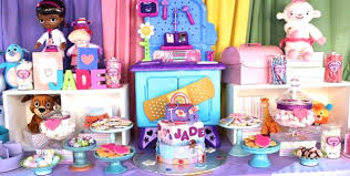 doc mcstuffin party supplies doc mcstuffins birthday party supplies uk ideas how to organize