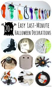 last minute halloween decorations easy halloween decorations