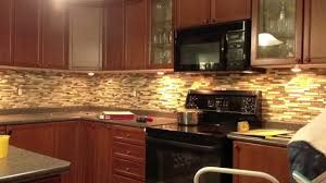 Kitchens With Stone Backsplash Decorating Artistic Fasade Backsplash With White Kitchen Cabinets