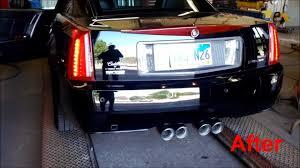 custom cadillac xlr cadillac xlr custom magnaflow exhaust