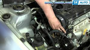 part 2 how to install replace timing belt and water hyundai