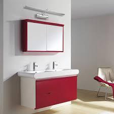 miroir avec applique croled lampe ampoule 8w 5050smd 36 leds blanc salle de bain