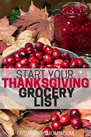 Thanksgiving Meal Deals Top 25 Best Thanksgiving Shopping List Ideas On Pinterest