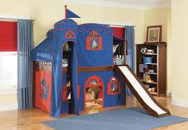 Fun Kids Beds  Campout Central Kids Bed Low Loft Tent Bed - Tent bunk bed