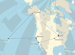 Alaska Air Map California Hawaii And Alaska U2014 Skew T