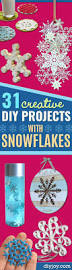 31 creative diy projects with snowflakes diy joy