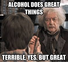 Birthday Weekend Meme - drinking while remembering all of the messed up sh t you did last