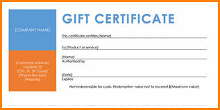 travel gift certificates 4 travel certificate template sle of invoice