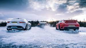jaguar f type vs porsche 911 tg on gt r vs 911 turbo vs jag f type