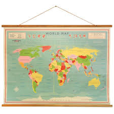 Vintage World Map Canvas by Simple Ideas World Map Wall Hanging Superb Vintage Map Wall