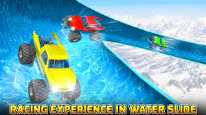 toy monster trucks racing water slide monster truck race android apps on google play