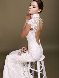 backless lace wedding dresses weddingcafeny com