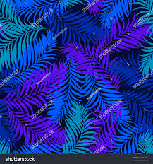 seamless vector palm pattern tropical pattern stock vector