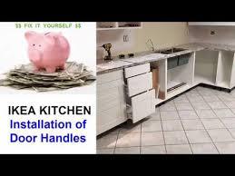 installing ikea kitchen cabinet handles ikea kitchen door handle installation